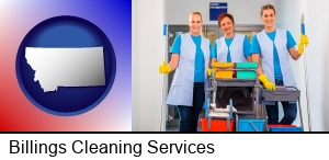 Billings, Montana - commercial cleaning service