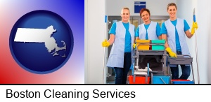 Boston, Massachusetts - commercial cleaning service