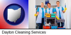 Dayton, Ohio - commercial cleaning service