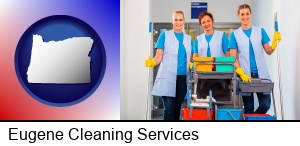 Eugene, Oregon - commercial cleaning service