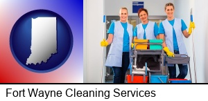 Fort Wayne, Indiana - commercial cleaning service