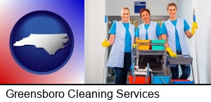 Greensboro, North Carolina - commercial cleaning service