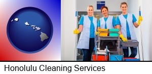 Honolulu, Hawaii - commercial cleaning service