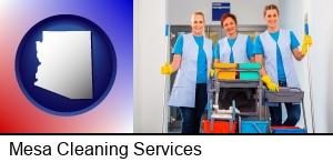 Mesa, Arizona - commercial cleaning service
