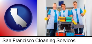 San Francisco, California - commercial cleaning service