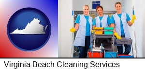 Virginia Beach, Virginia - commercial cleaning service